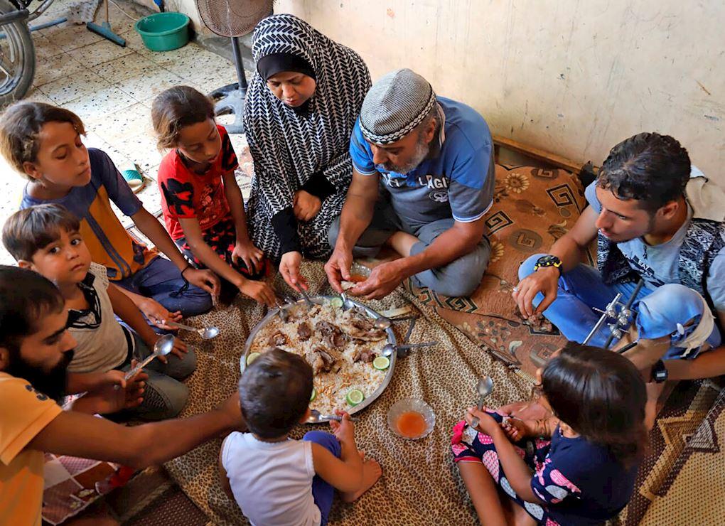 Tu Udhiya para Gaza (carne congelada)