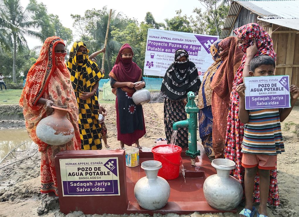 Pozo en Bangladesh