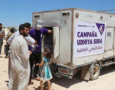 Udhiya en Siria