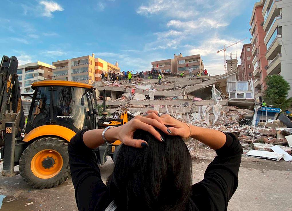 Emergencia terremoto en Turquía