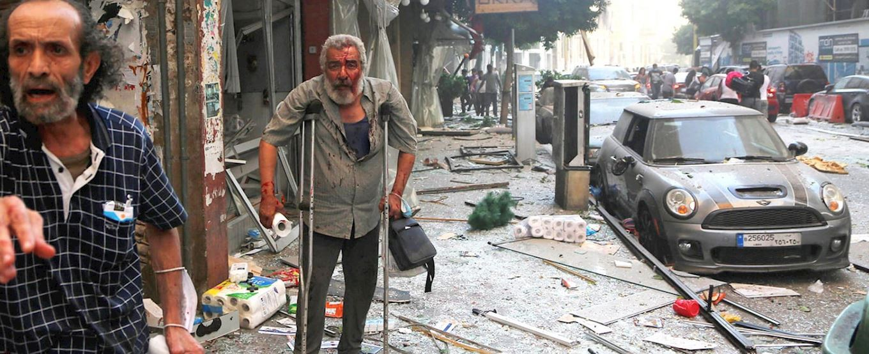Emergencia en Beirut - Líbano