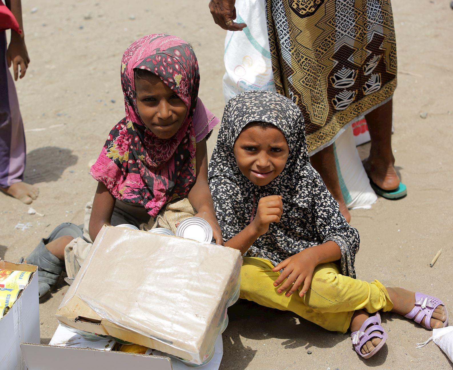 Ayuda a Yemen