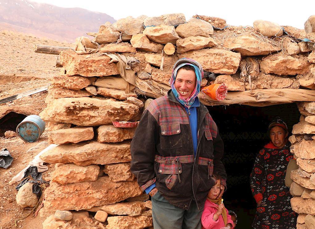 Reconstruir casas en Marruecos