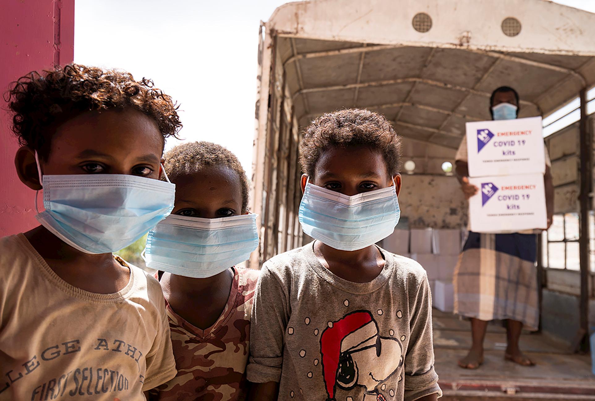 Kits de Higiene para Yemen