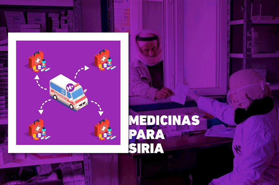 Reto medicinas Siria