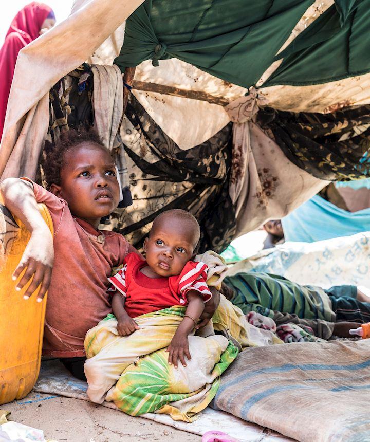 Agua para Somalia