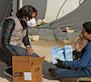 Reparto caravana solidaria en Siria