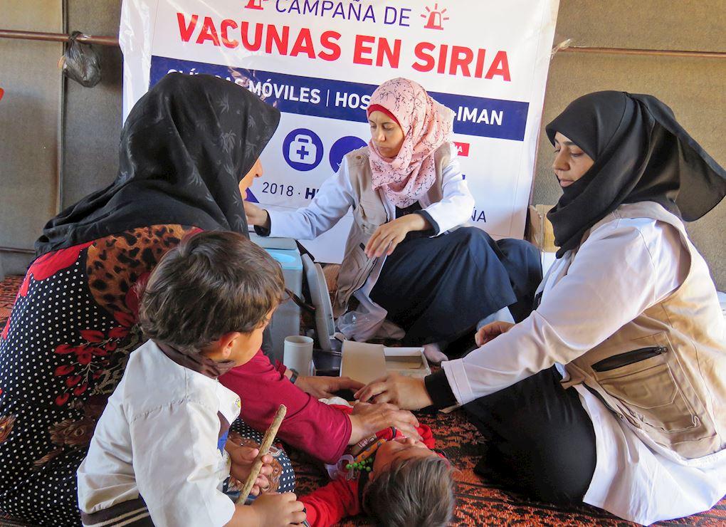 Vacunas para Siria