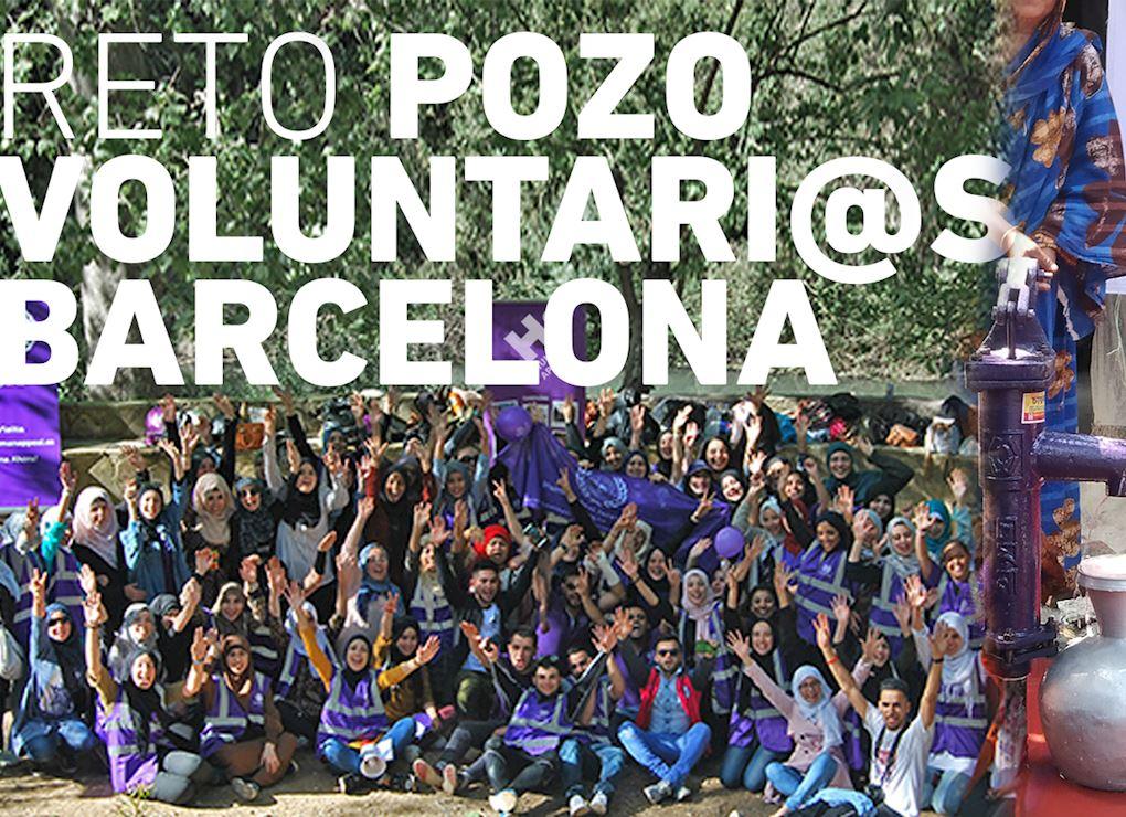 Reto Pozo voluntari@s de Barcelona