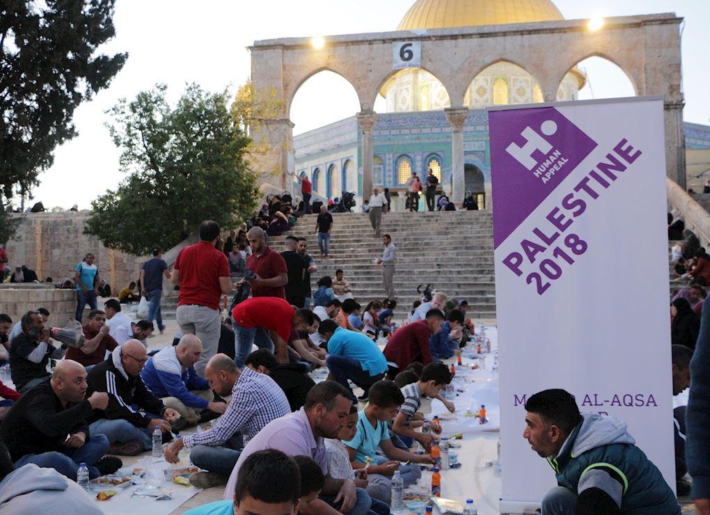 Fondo Iftar en Al-Aqsa