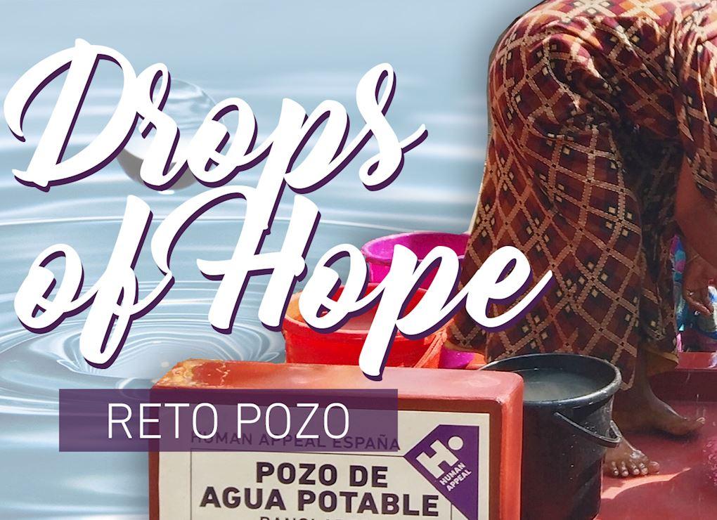 """Reto pozo """"Drops of Hope"""""""