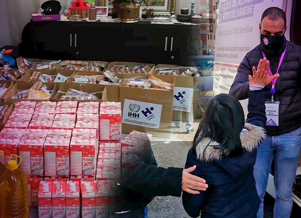 Alimenta a familias este Ramadán - Proyectos locales en España