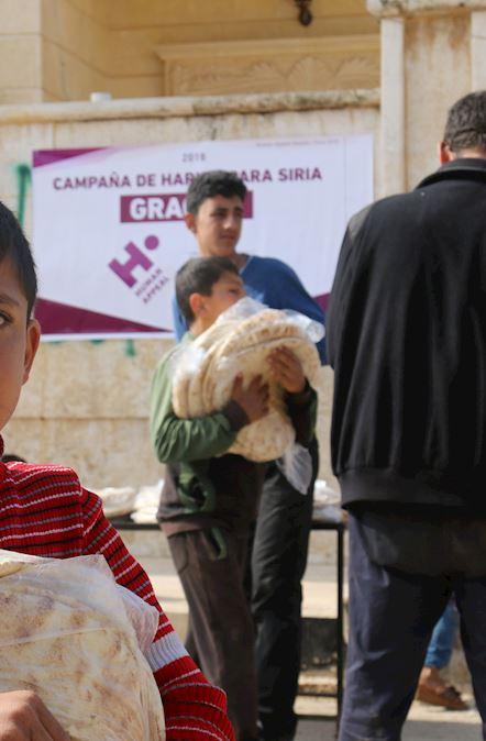 "Proyecto ""Pan para Siria"""