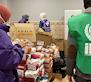1er gran reparto alimentos y kits de higiene Invierno 2021