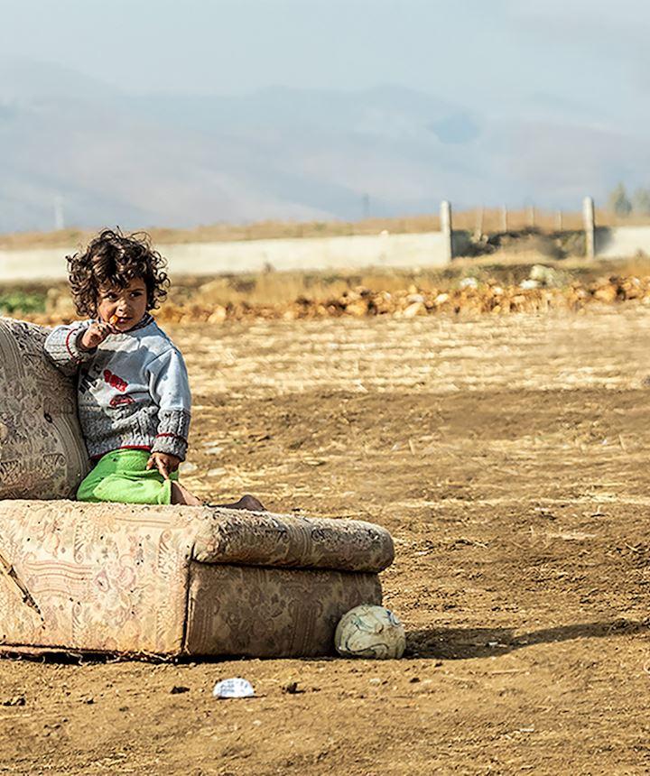 Niño en Siria