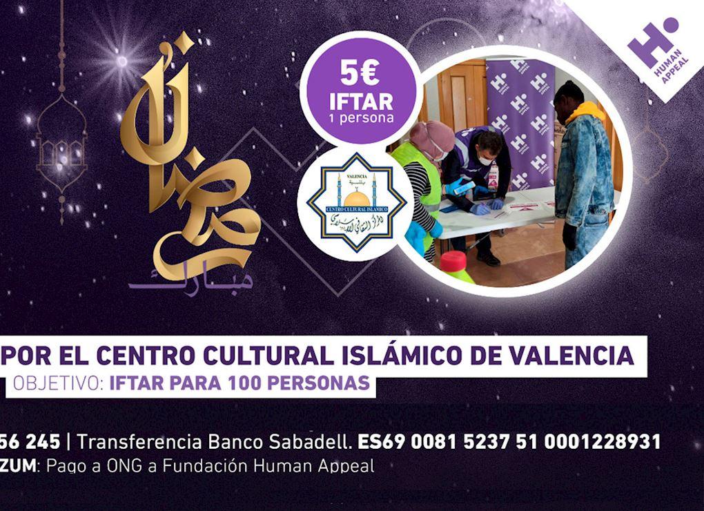 Iftar Solidario Valencia - Ramadán 2021
