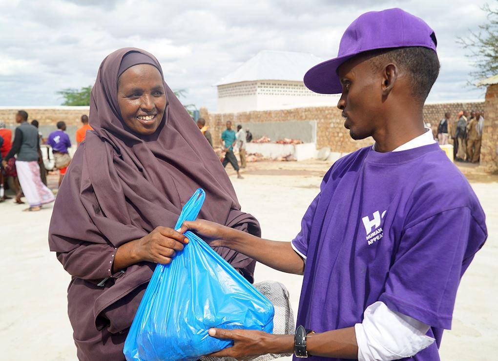 Tu Udhiya para Somalia (cabra)