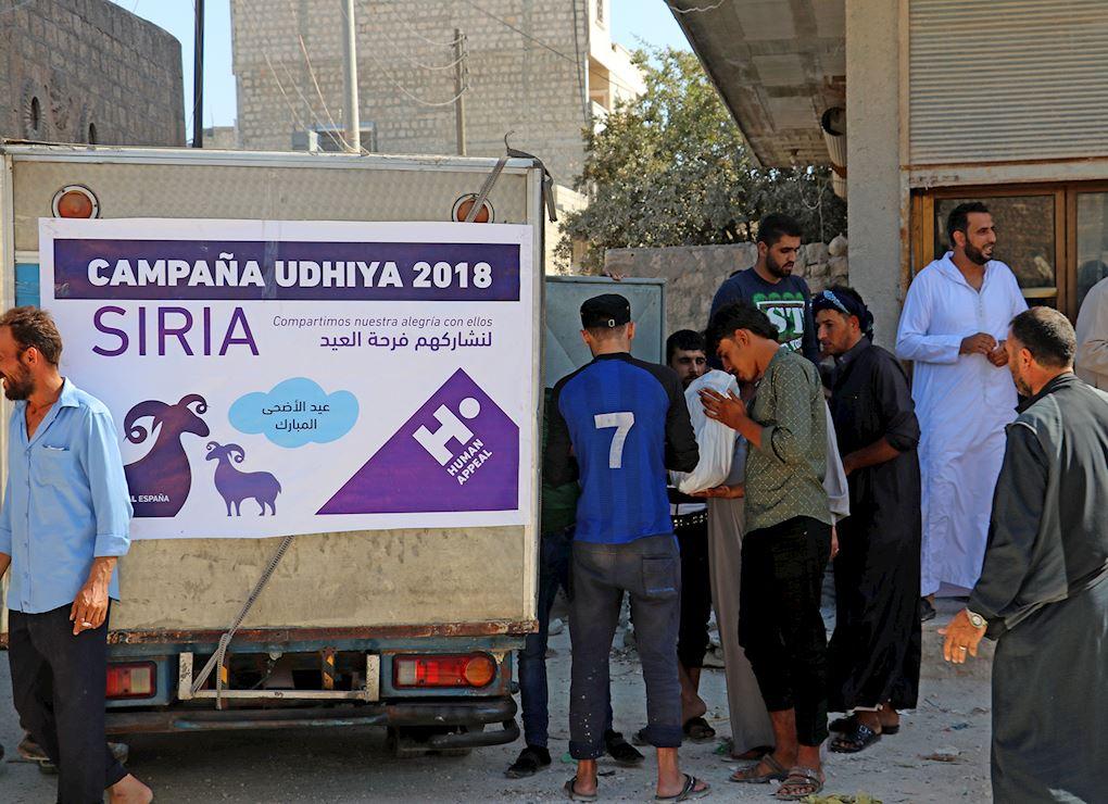 Tu Udhiya para Siria