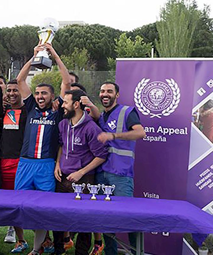 human appeal football team spain