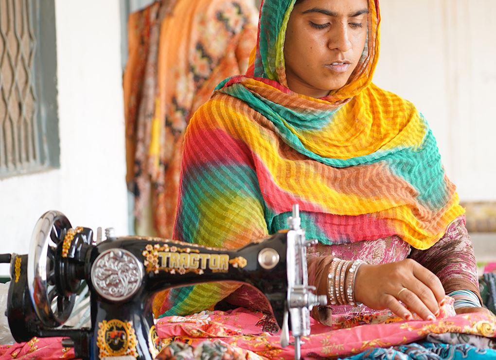 Máquina de coser - Pakistán
