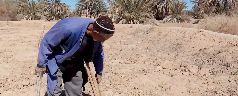 Agua limpia - pozo en Marruecos
