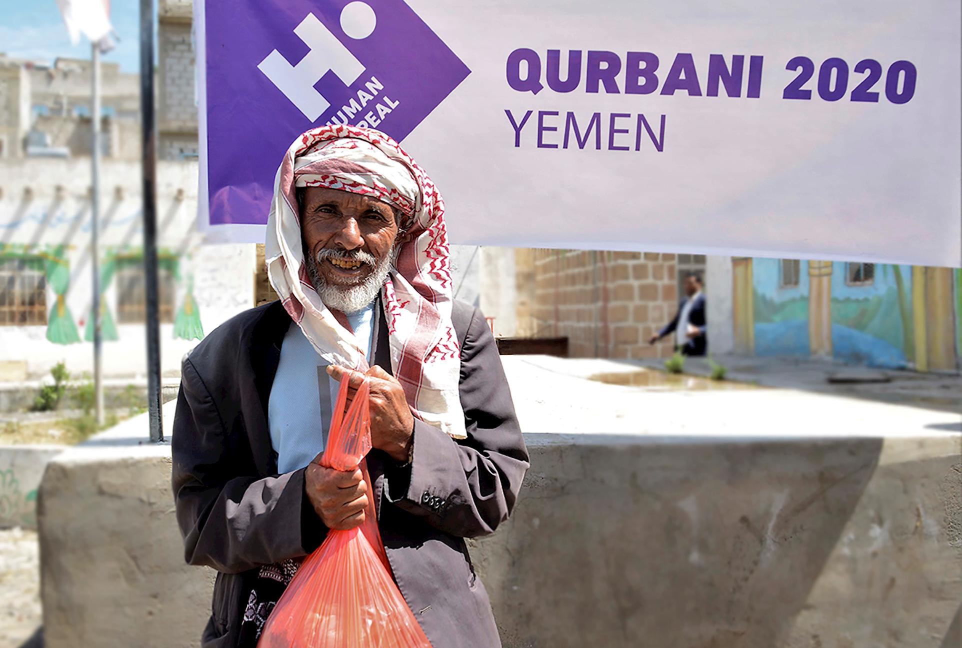 carne de la Udhiya en Yemen